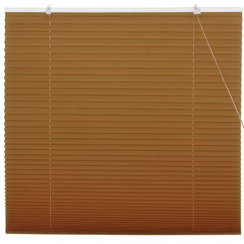 Oriental Furniture Coffee Pleated Shades - (36 in. x 72 in.)