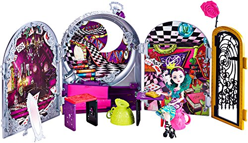 Ever After High Way Too Wonderland High and Raven Queen Playset -