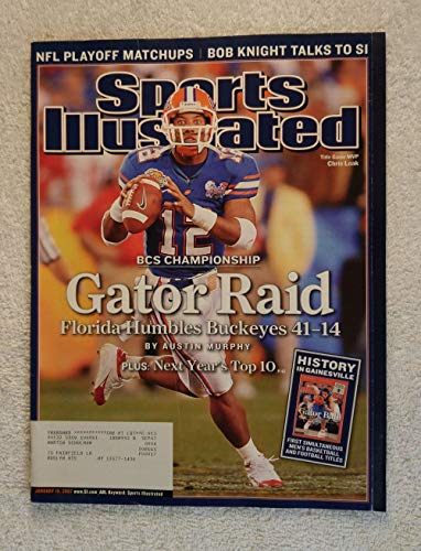 Chris Leak - Florida Gators - 2006 National Champions! - Sports Illustrated - January 15, 2007 - Ohio State Buckeyes - College Football - SI ()