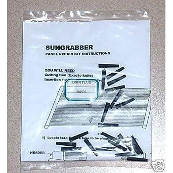 Amazon Com Sungrabber Solar Heater Panel Swimming Pool
