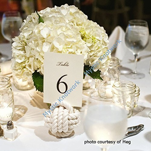 (Wedding Knot Table Number Holder - Natural)