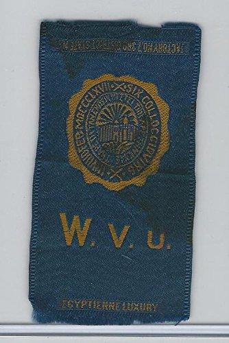 (S25 American Tobacco Silk, College Seal, 1910, West Virginia)