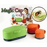 Otulet 3pcs. Magic Bag Cap Keep Snacks Fresh 1 Small 1 Med 1 Large Seals Bags Shut! (with Otulet Free Gift)