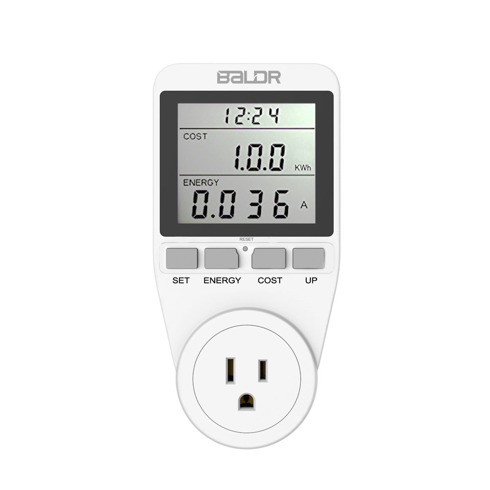 BALDR US Electricity Monitor, Power Consumption Meter, Killawatt