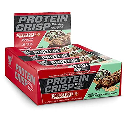Busting your butt in the weight room doesn't have to mean punishing your taste buds during recovery. Reward yourself with BSN's Syntha-6 Protein Crisp Bar, a serious combination of incredible taste and unique texture without compromising your macros....
