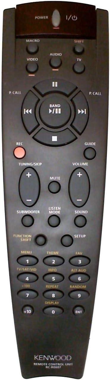 Kenwood Rc R0607 Fernbedienung Kr V6050 Krf V7010 V8010 V7050 Ht B401 B502 Audio Hifi
