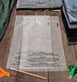 Shop4Mailers 19 x 24 Suffocation Warning Clear