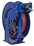 Coxreels T Series Supreme-Duty Air/Water Hose Reel with Hose, Model# TSH-N-650, 1'' Hose ID, 50' Length