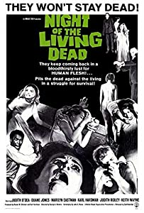 Night of the Living Dead Movie POSTER 27 x 40, Judith O'Dea, Duane Jones, A, MADE IN THE U.S.A.