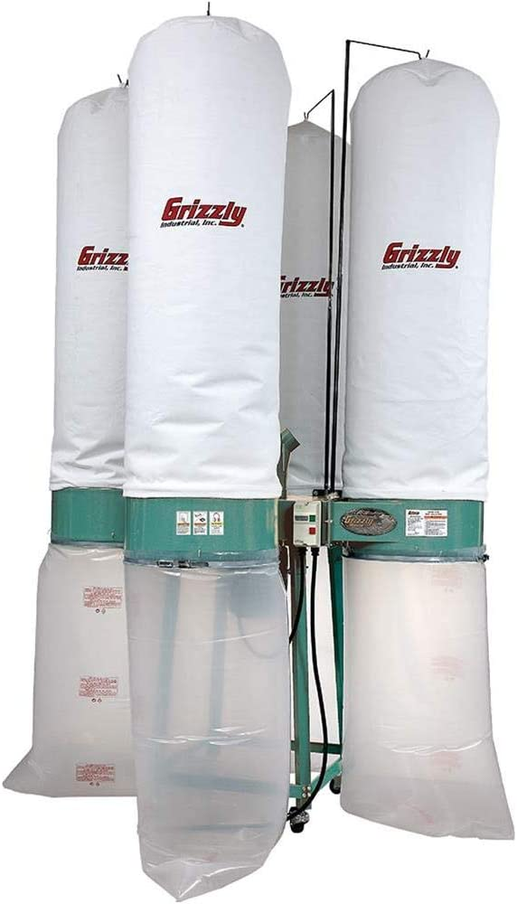 Grizzly Industrial G0673-10 HP Industrial Dust Collector: Home Improvement