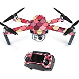 Skin For DJI Mavic – Pink Scales | MightySkins Protective, Durable, and Unique Vinyl Decal wrap cover | Easy To Apply, Remove, and Change Styles | Made in the USA