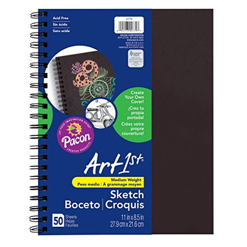 Pacon PAC4779 Art1st Create Your Own Cover Sketch Diary, 11