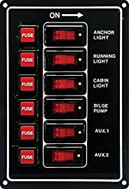 Seasense Switch Panel 6 Gang