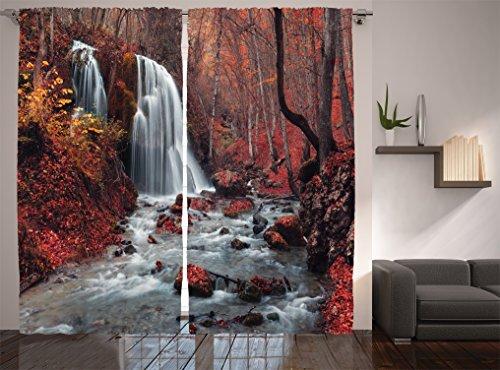 Autumn Kitchen Curtains Amazon Com