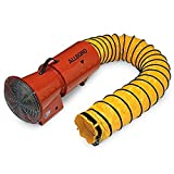 Allegro Industries 9514‐25 Axial Blower with Canister, AC Electric 1/3 hp, Includes 25' Ducting