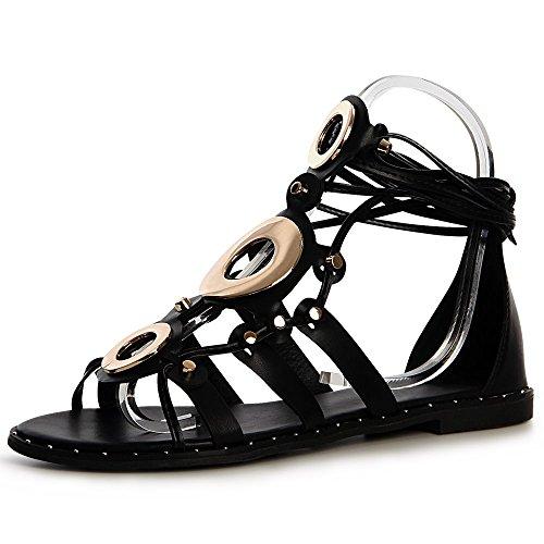 Sandales Noir Sandalettes Femmes Topschuhe24 Topschuhe24 Femmes xwRgCP