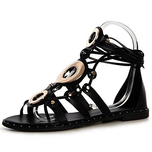 Topschuhe24 Topschuhe24 Sandalettes Femmes Femmes Noir Sandales Noir Sandalettes Topschuhe24 Sandales Femmes rwrT1qgUx