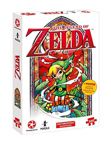 Auf Ins Adventures with The Legend of Zelda - The Wind Waker Winds Requiem (360 Jigsaw Puzzle - with Poster The Motif in Full Size)