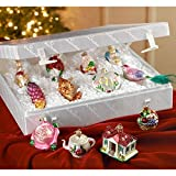 Old World Christmas Bride's Collection Ornament Box Set