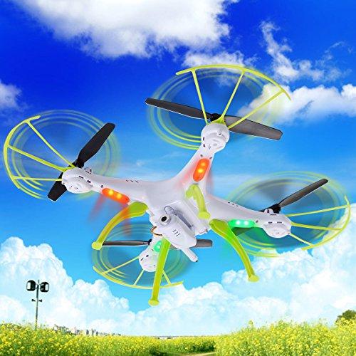 Safstar Syma X5HC RC Headless Quadcopter UFO with 2.0MP HD Wifi Camera (X5HC/White) by Safstar
