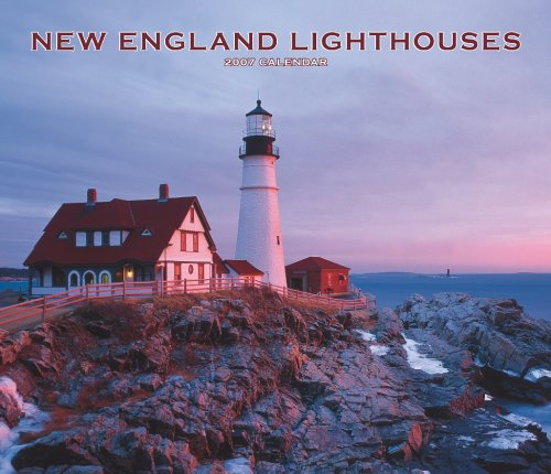 New England Lighthouses 2007 Deluxe Calendar