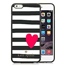 Most Popular Custom iPhone 6plus Case Kate Spade New York Silicone TPU Phone Case For iPhone 6plus 5.5 Cover Case 219 Black