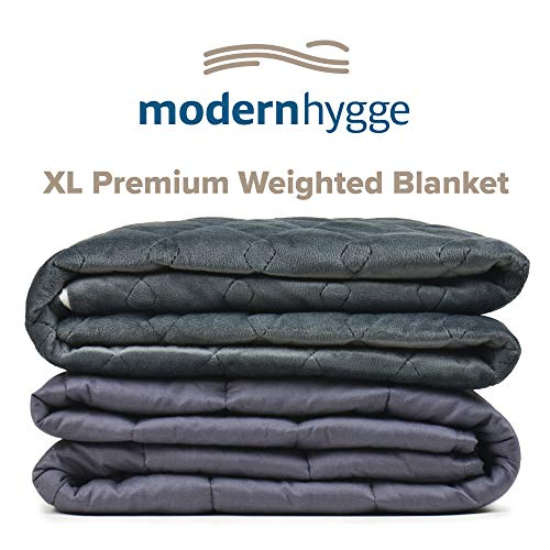 Cheap Modern Hygge Premium Weighted Blanket for Adults (20 lbs 60