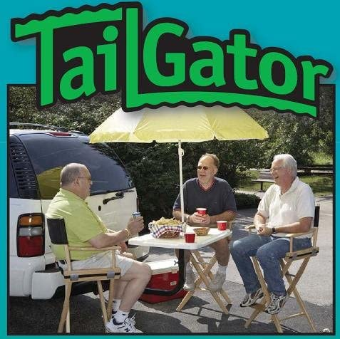 TailGator Tail Gate Hitch-Mounted Tailgating Table
