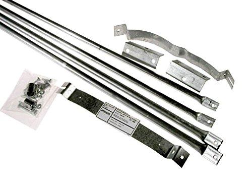 Selkirk Metalbestos 8T-RBK Stainless Steel Roof Brace Kit, 8-Inch by Selkirk Metalbestos