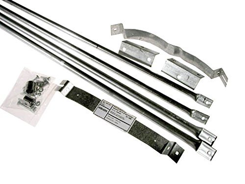 Selkirk Metalbestos 8T-RBK 8-Inch Stainless Steel Roof Brace Kit