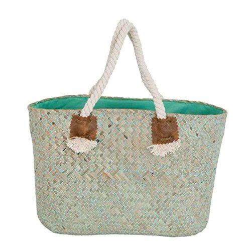 Clayre & Eef BAG261 borsa spiaggia borsa ca, 33 x 16 x 20 cm