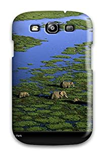Galaxy S3 Case Cover - Slim Fit Tpu Protector Shock Absorbent Case (amazing Wildlife From National Geographic) Sending Free Screen Protector