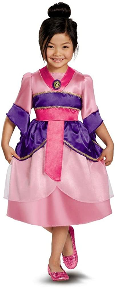 Amazon Com Disguise Mulan Sparkle Kids Costume Small Blue Toys Games