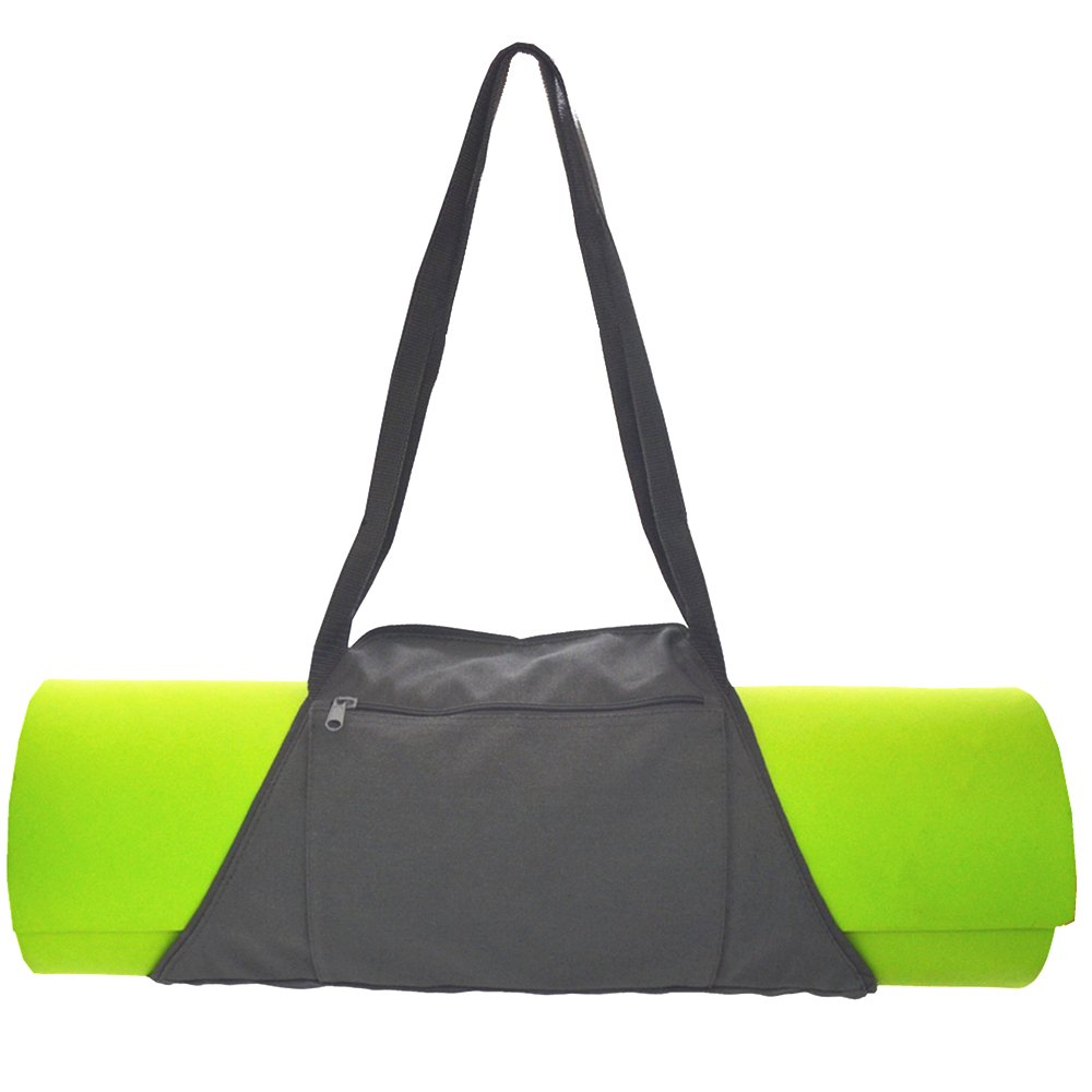 Beffit Yoga Mat Bag Fits Most Yoga Mat, Super Unique Yoga Mat Bag Product Large Pockets Wallet Super Durable Water Resistant Cool Black