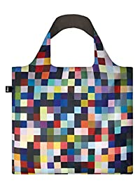LOQI Reusable Tote Bag, Richter Print, United States Carry-On