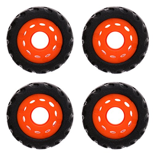 MonkeyJack Skateboard Longboard Mountainboard Rubber Wheel, 70mm, Set of 4