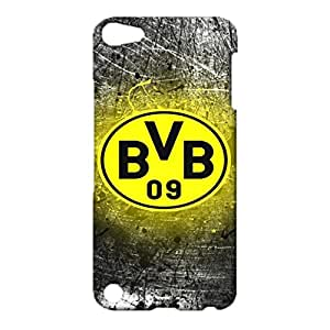 3D BVB Logo Phone Case for IPod Touch 5th Generation Prevalent Style Bundesliga 3D Borussia Dortmund BVB 09 Logo Cover Case Fit IPod Touch 5th Generation