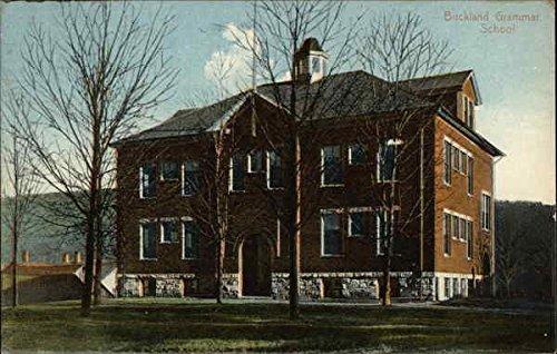 Buckland Grammar School Buckland, Massachusetts Original Vintage - Buckland Hills