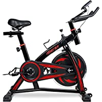 Merax Indoor Cycling Bike Trainer – Stationary Exercise...