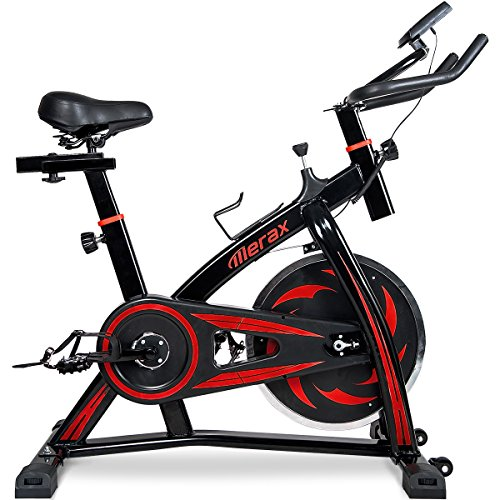 Merax S301 indoor Cycling Bike Cycle Trainer Exercise Bicycle (Color - Heavy Exercise Duty Bikes