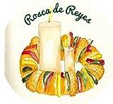 "Rosca de Reyes - Edible Image Cupcake Toppers - Set of 12 Precut - 2"" Round"
