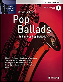 Ballads-Playalong for Saxophone-altsaxophon voti partiture