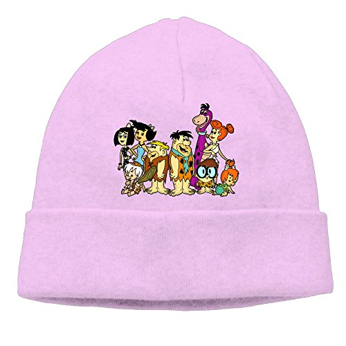 OLala The Flintstones Men And Women Fashion Knitted Beanie Skull Caps (Sons Of Anarchy Costume Female)