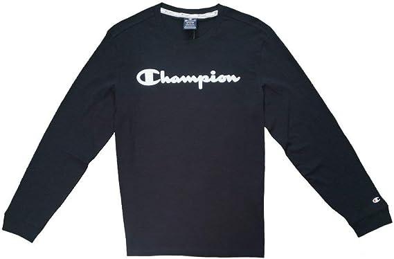Champion Camiseta Manga Larga Legacy American Classics Azul