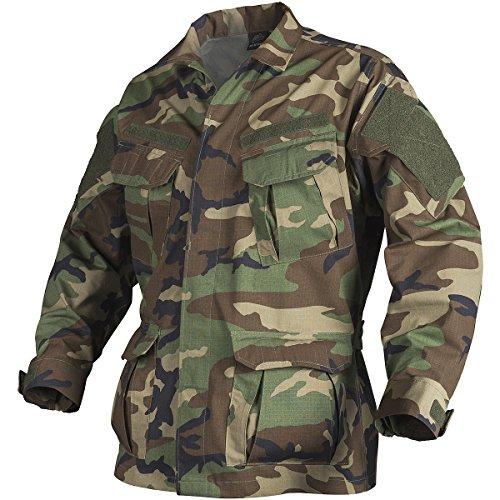 Helikon SFU NEXT Shirt PolyBaumwolle Ripstop US Woodland