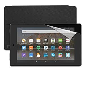 """Fire HD 8 Essentials Bundle including Fire HD 8 Tablet, 8"""" HD Display, Wi-Fi, 8 GB - Includes Special Offers, Incipio Cover - Black and Screen Protector"""