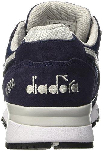 Diadora N9000 Iii, Zapatilla de Deporte Baja del Cuello Unisex Adulto, Azul Azul (Blu Classico/grigio Grattacielo)