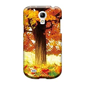 Shock Absorbent Cell-phone Hard Cover For Samsung Galaxy S4 Mini With Unique Design Beautiful The Joy Of Autumn Autumn Pattern RandileeStewart