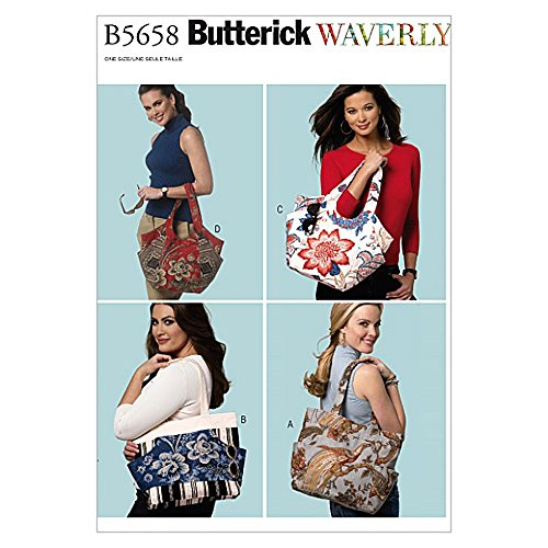 Butterick Fashion - Butterick Accessories Sewing Pattern 5658 Fashion Bags in 4 Styles