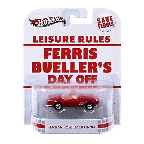 1984 Ferrari (Hot Wheels Retro Ferris Buellers Day Off 1:55 Die Cast Car Ferrari 250 California)